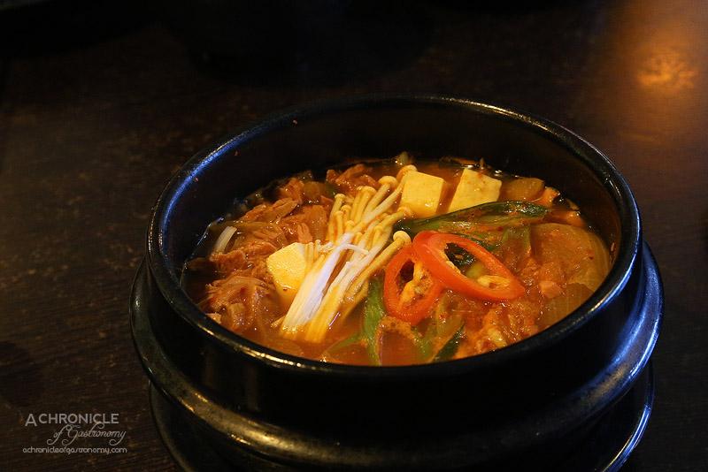 Arisoo - Kimchi Stew with Tuna ($15)
