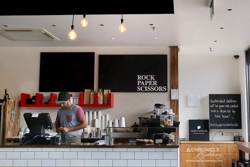 Cotta Cafe Melbourn : Rock paper scissors port melbourne a chronicle of gastronomy m
