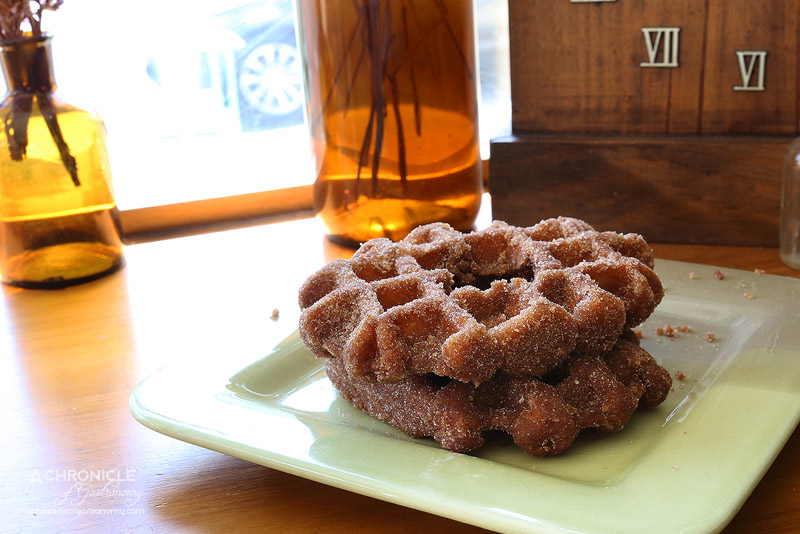 The Left Handed Chef - Waffle Donut
