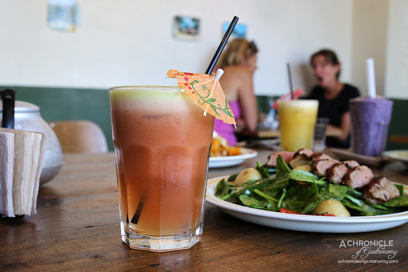 Truman Cafe - Roberta Flack - Apple, cucumber, strawberry, watermelon, mint ($8)