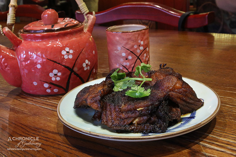 New Shanghai - Smoked Fish Infused with Spiced Dark Soy ($11.60)