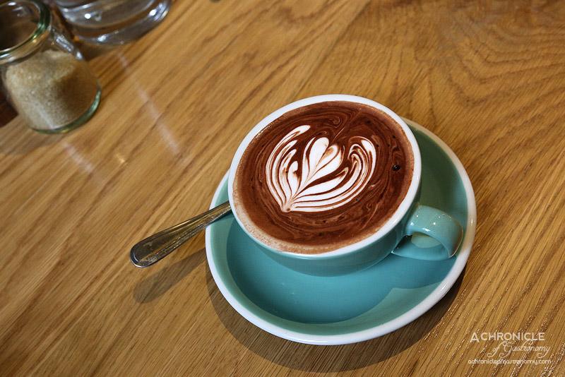 Cafe AMBA - Mork Hot Chocolate - Original Dark 70% ($4)