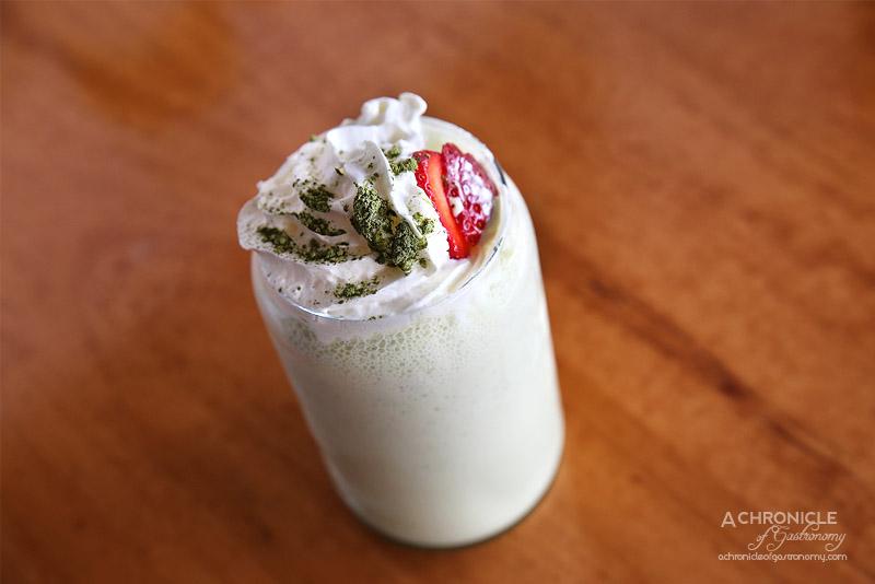 Sardi - Matcha Milkshake ($7.90)