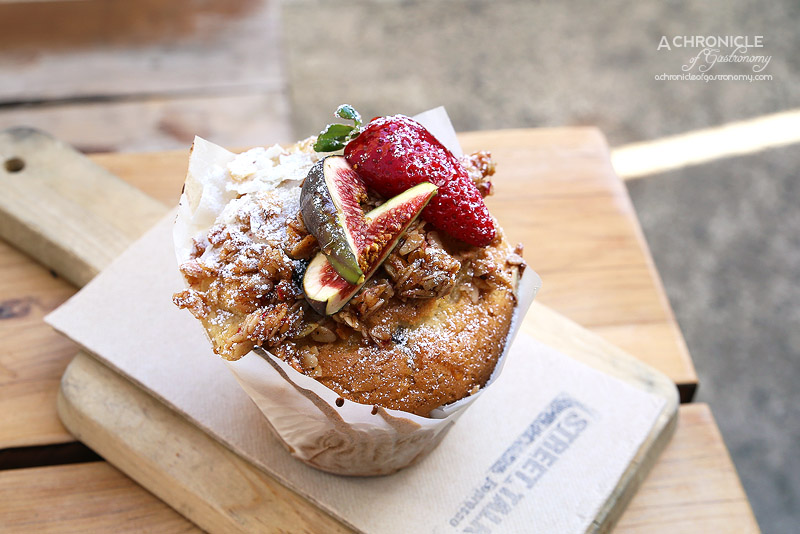 Street Talk Espresso - Coconut, Fig and Berry Muffin