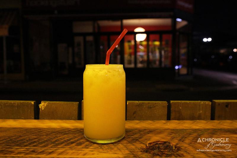 Village Cantina - Mangorita - Tequila, Mango nectar, Triple sec, Lime juice ($15)