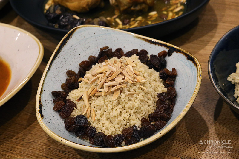 Mama Morocco - Roasted almond and sultana couscous