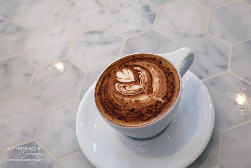 White MOJO Balwyn - House Blend Cappuccino ($4)