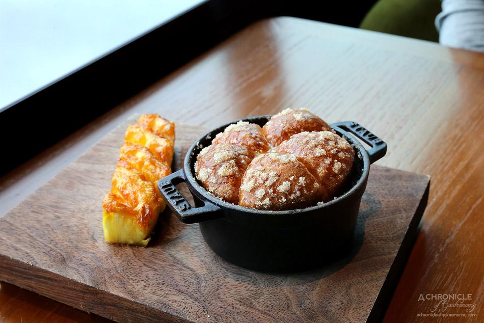 Dinner by Heston - Tipsy Cake (c.1810) - Spit roast pineapple ($32)