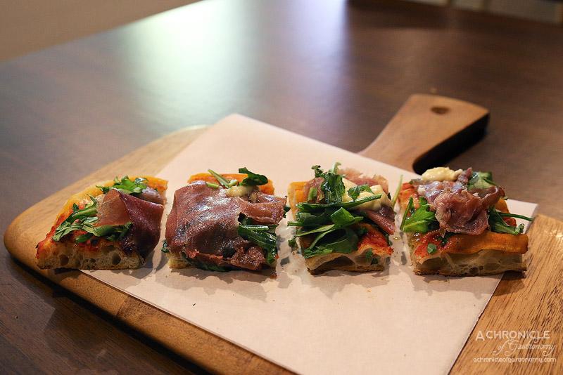 Lievita - Prosciutto, Rocket, Buffalo Mozzarella