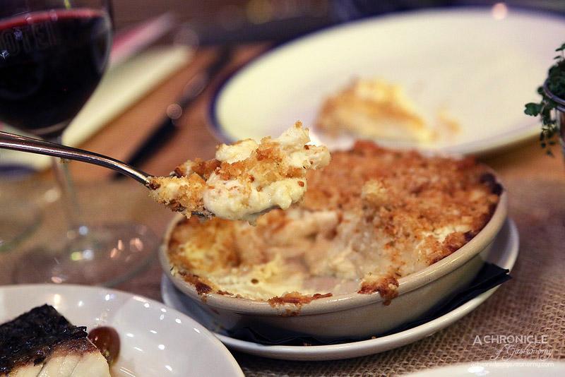 St Hotel - Cauliflower mac n cheese