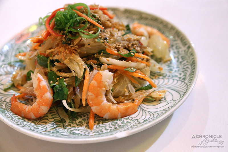 House of Hoi An - Pomelo salad with chicken and prawns ($18)