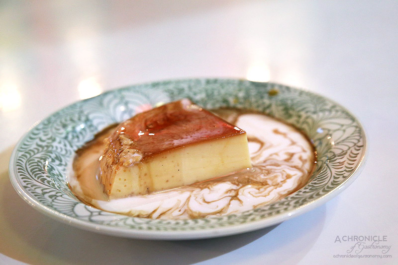 House of Hoi An - Creme caramel (Kem flan) ($10)