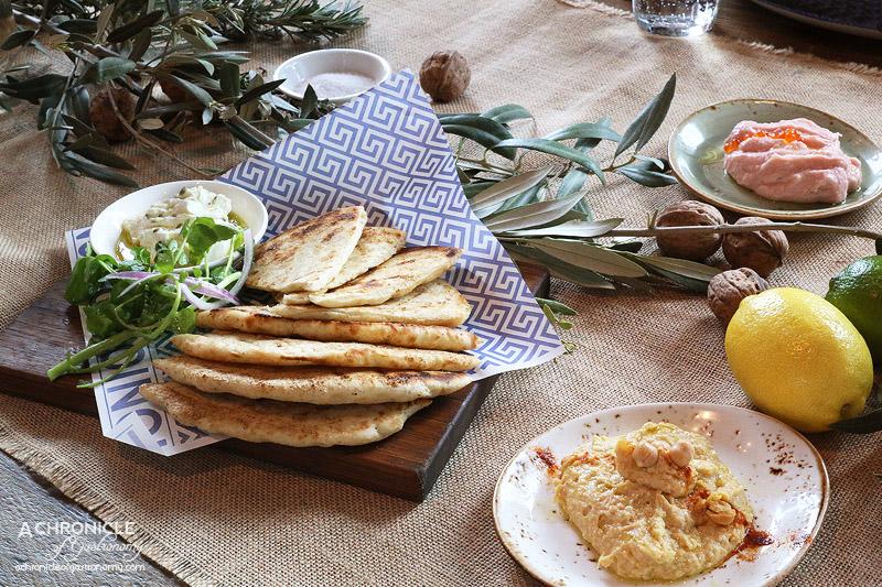 IONIO - House made dips - hommus, taramasalata