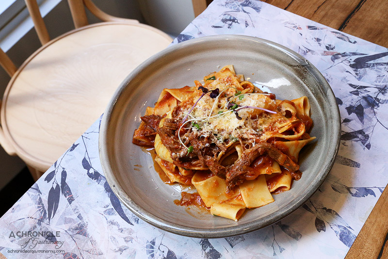 Lt Osteria - Pappardelle with beef ragu