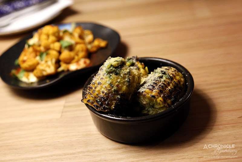 Saint Lucia - Grilled cuban corn on the cob w herb butter (3 for $7)