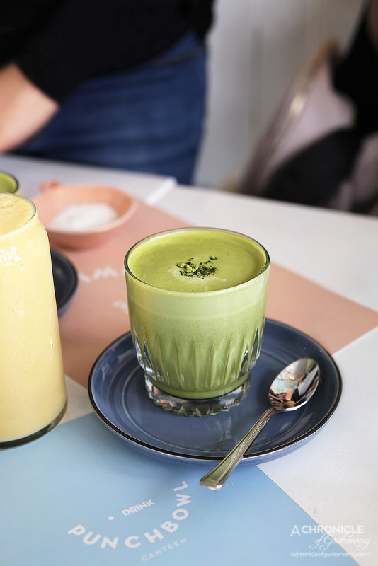 Punchbowl Canteen - Matcha Latte (Matcha Maiden) ($5)