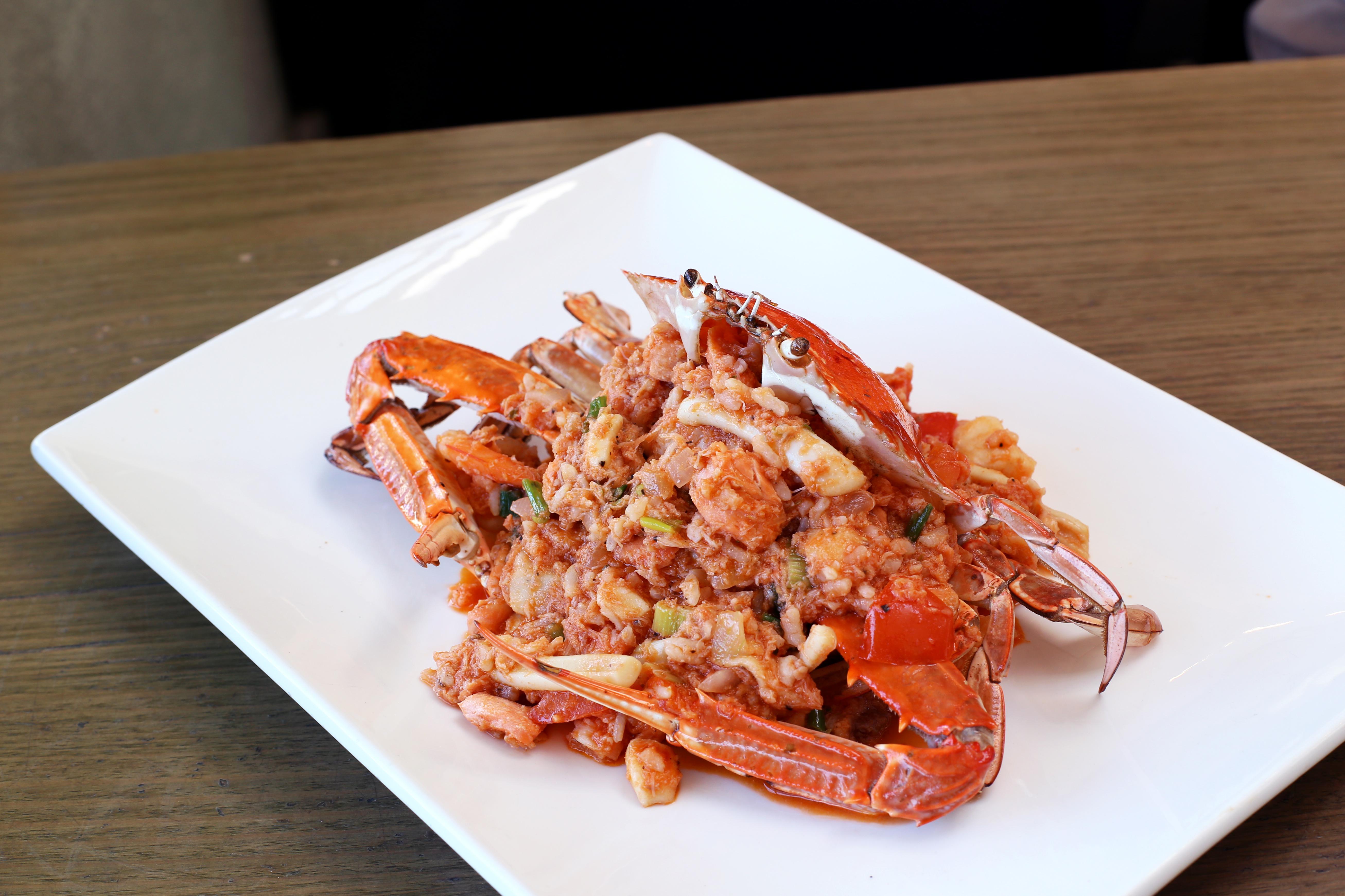 Senses - Seafood Risotto