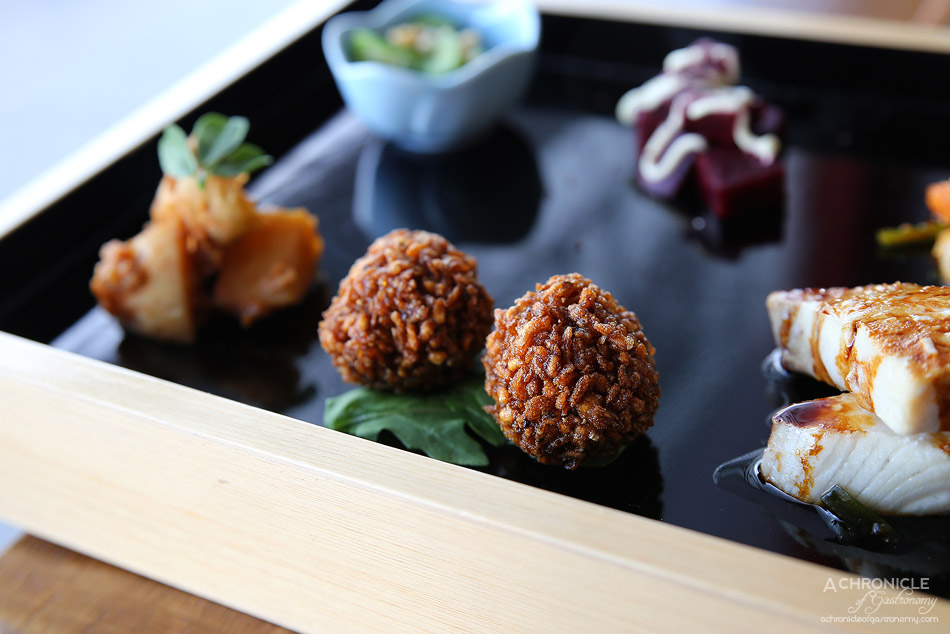 Spiral Beans - 5 Element set meal - Konnyaku balls ($19.50)
