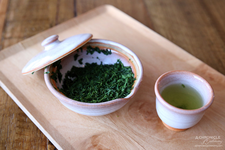 Spiral Beans - Kyoto Gyokuro - Single-origin, first-harvest tea (ichiban cha) ($10)