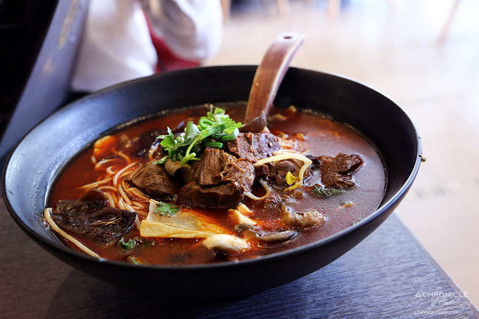 Tina's Noodle Kitchen - Spicy Stewed Beef Noodles ($14.50)