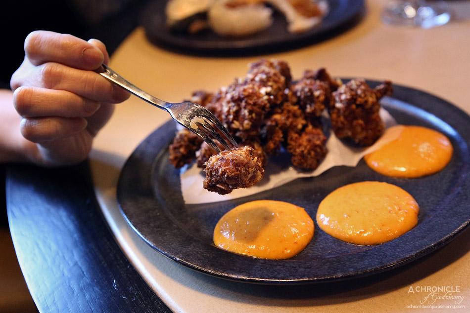 MPD Steak Kitchen - Popcorn chicken and chilli mayo