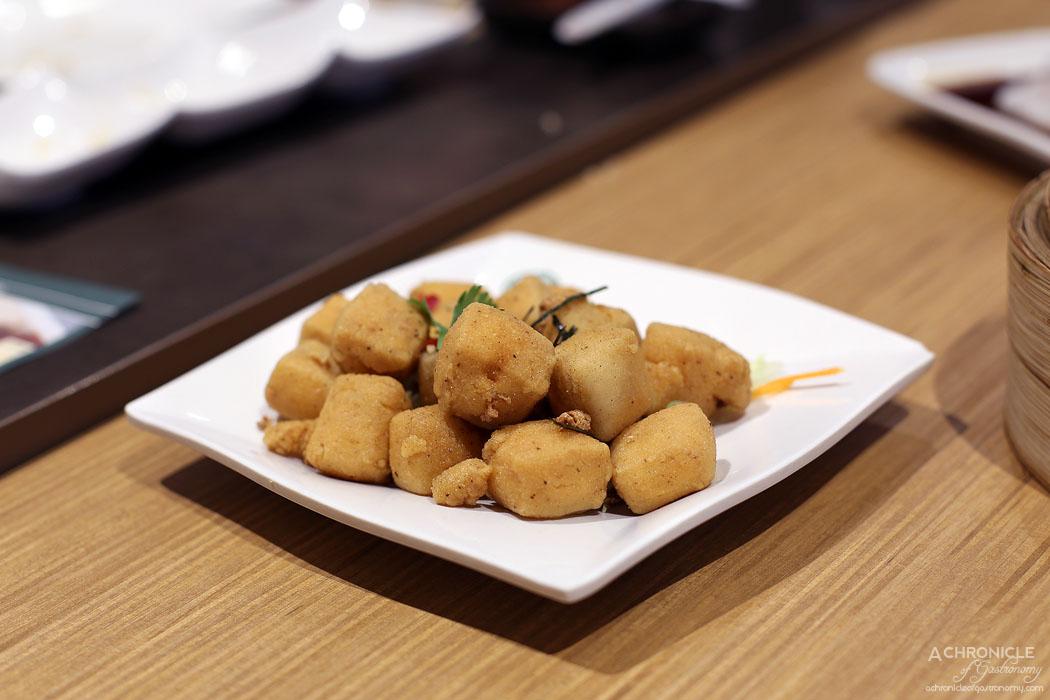 Tim Ho Wan - Golden tofu ($6.80)