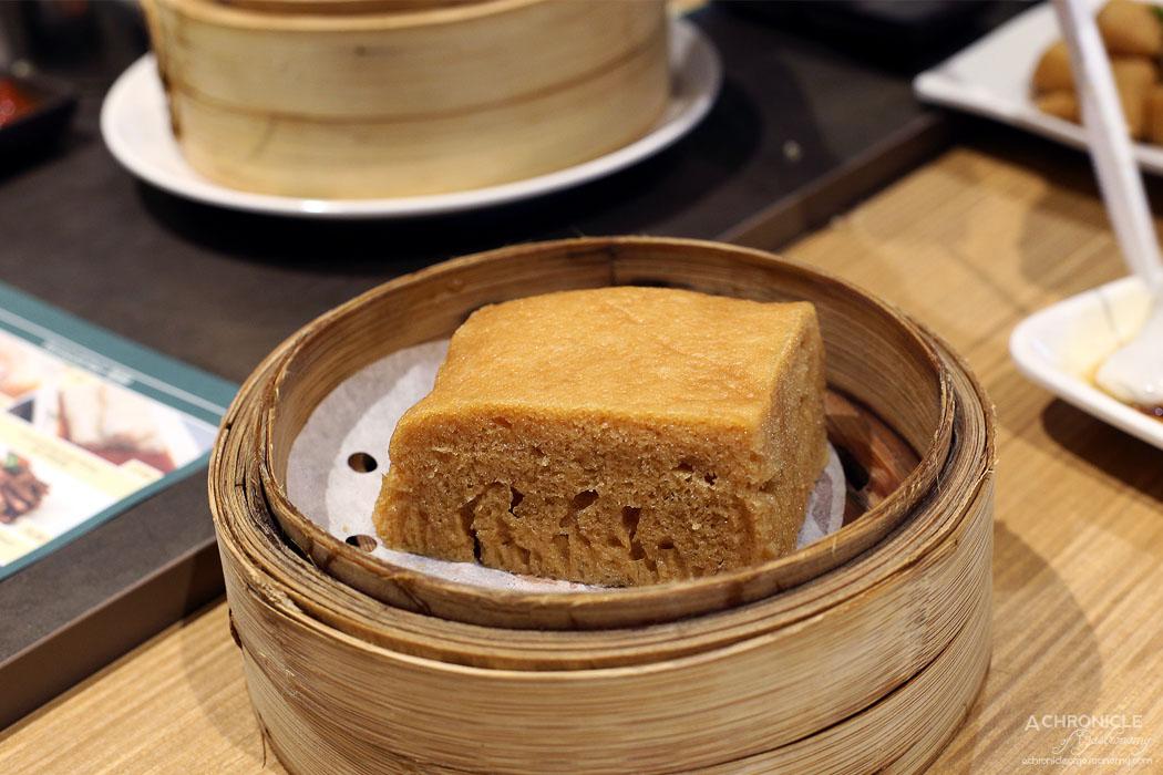 Tim Ho Wan - Steamed egg cake ($5.80)