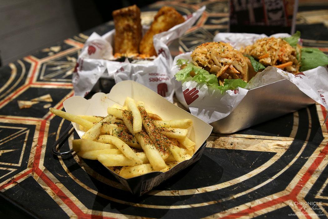 4Fingers Chicken - Seaweed fries ($4)