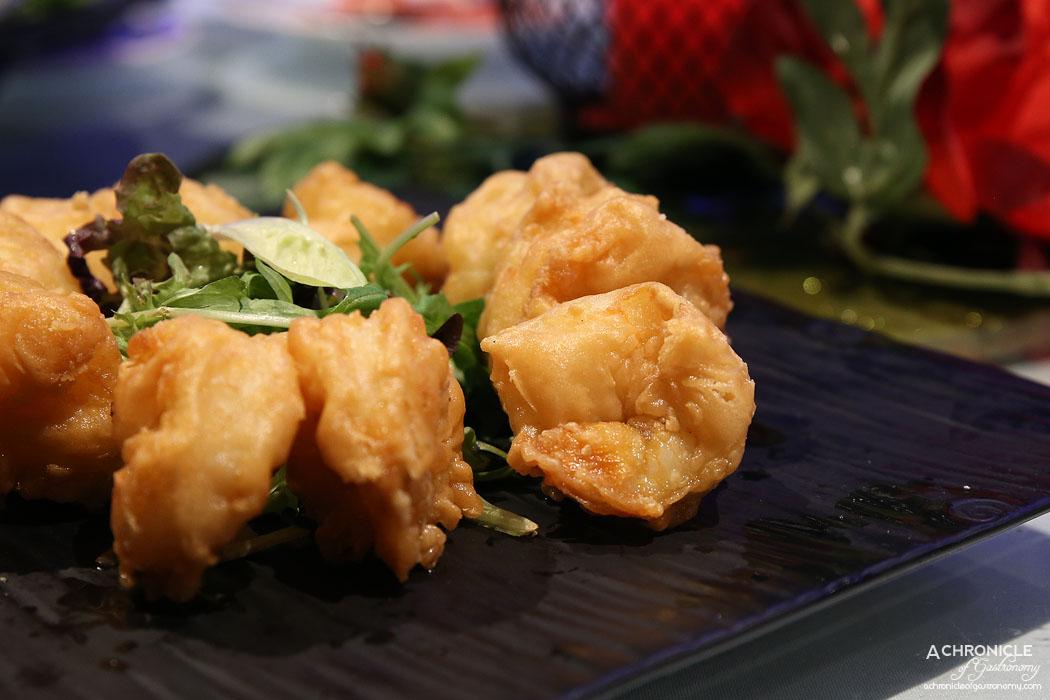 Secret Kitchen Dai Long Banquet - Sauteed Crispy Prawn Cutlet in Hawthorn Sauce