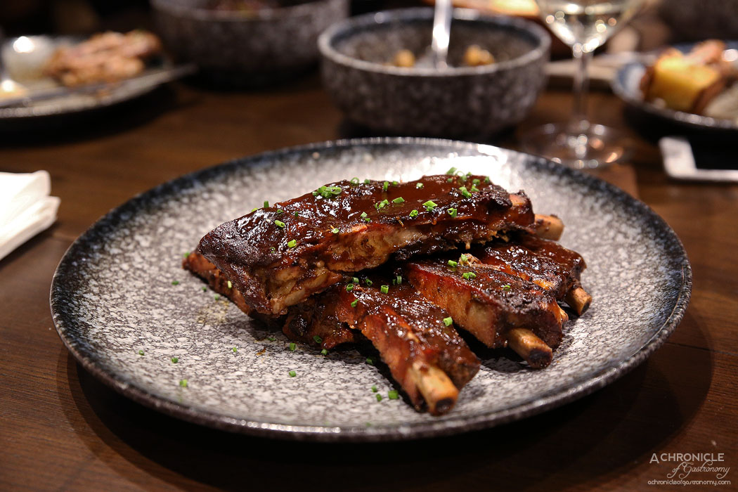 Third Wave Cafe - Pork Ribs - Tender, juicy, melt-in-your-mouth ribs, Southern tradition using dry spices