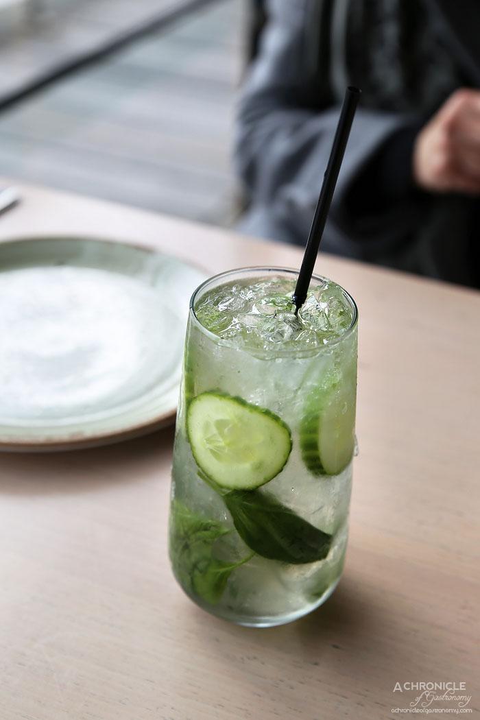 Mr Hobson - Cucumber Collins - Cucumber, basil, gin