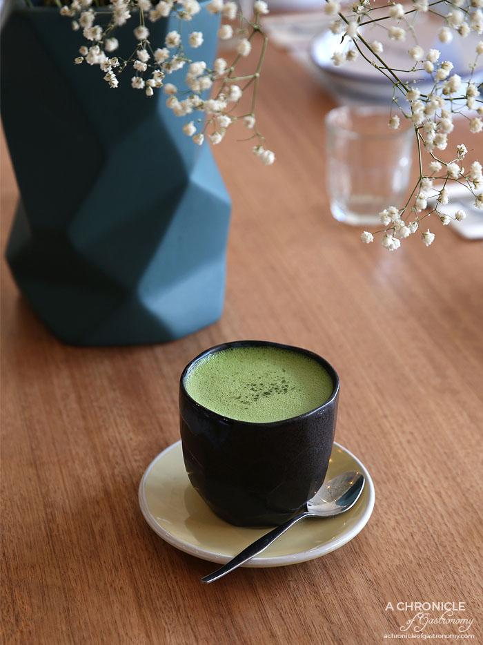 Proud Sprout - Matcha Maiden matcha latte ($4.50)