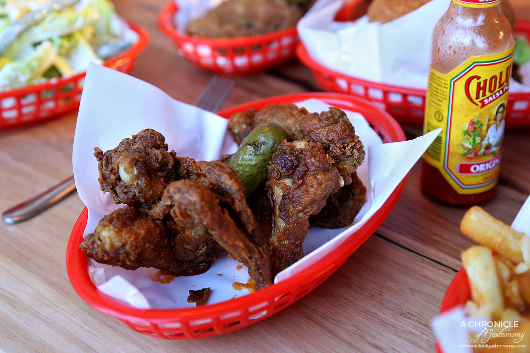 Fat Fried and Tasty - Hot wings