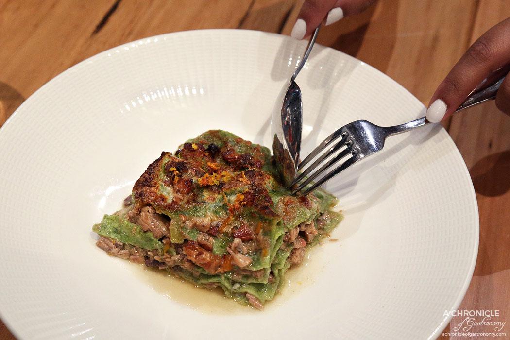 Lello - Lasagna Verde - Veal, pork & spinach traditional lasagne from the Ferrara region ($28.80)
