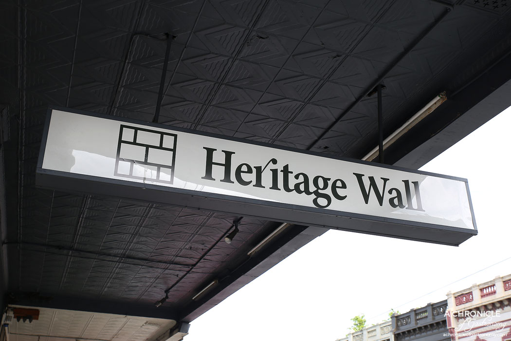 Heritage Wall