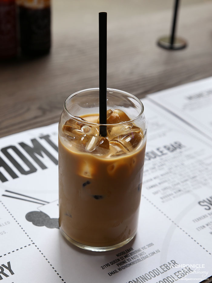 Homi Noodle Bar - Vietnamese salted coconut iced coffee ($7)