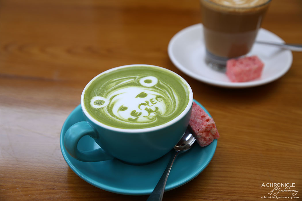 Le Clec - Matcha latte ($4.50)