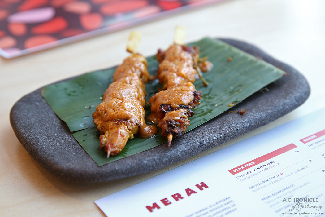 Merah - Satay Chicken (2 for $13)