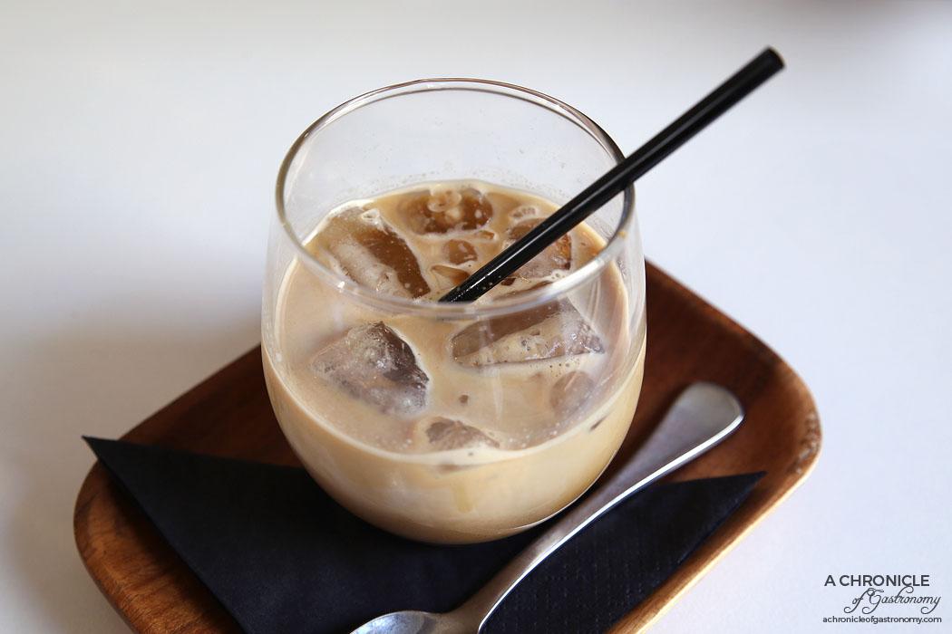 Sir Charles - Vietnamese iced coffee - Double shot of Midas blend espresso, condensed milk ($6)