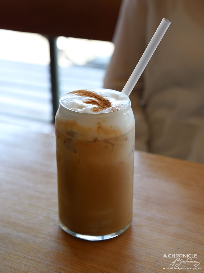 Barry - Iced coffee with honey ($6)