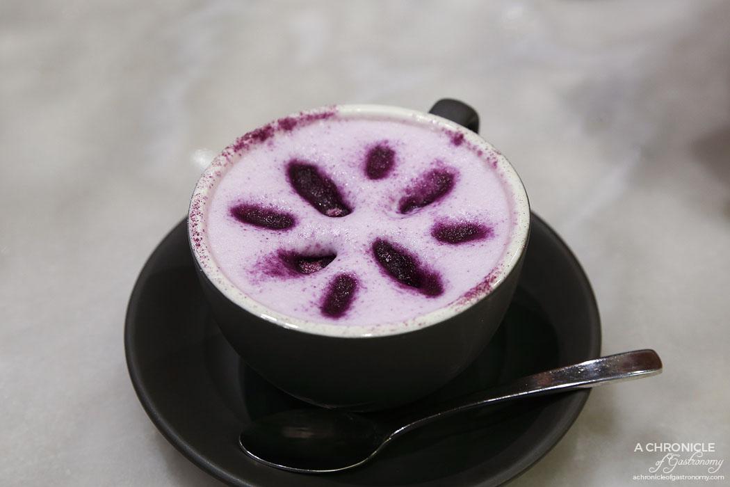Calia - Sweet potato latte ($5)