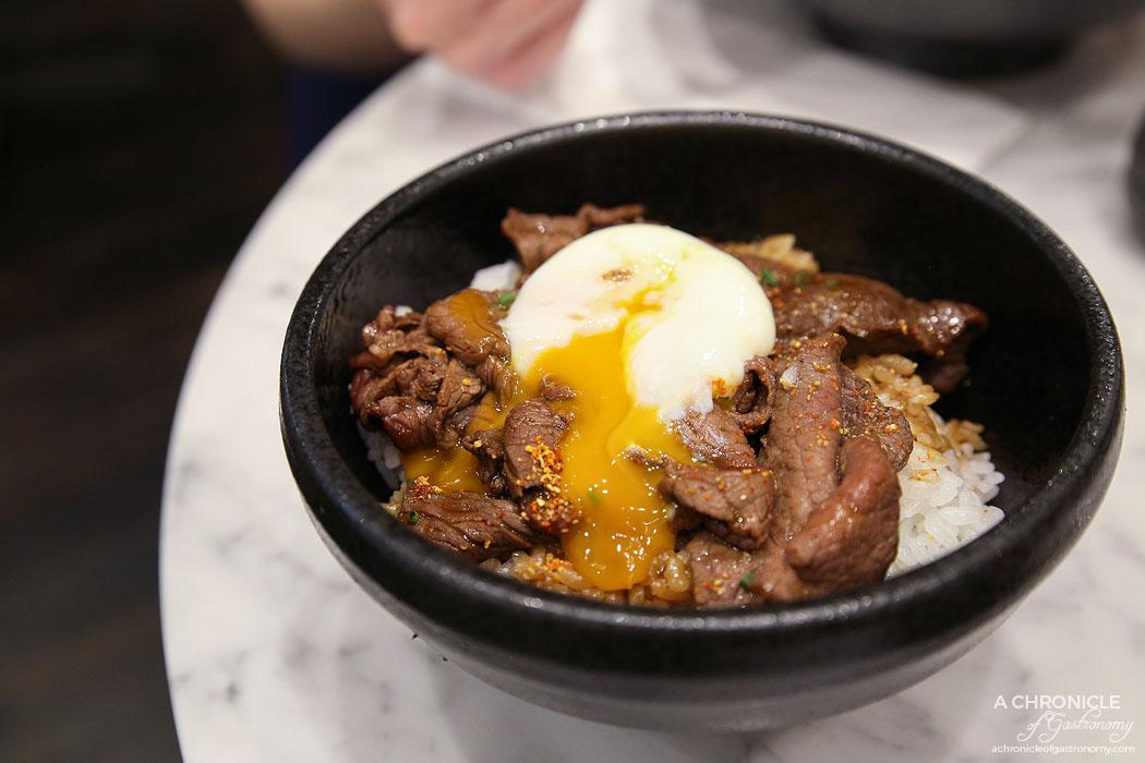 Calia - Marbled Sukiyaki Bowl - Premium marbled wagyu slices w 63 degree egg
