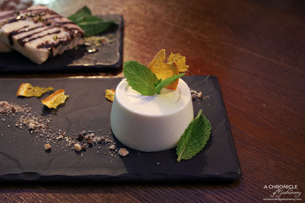 Guhng - Fig leaf panna cotta ($15)