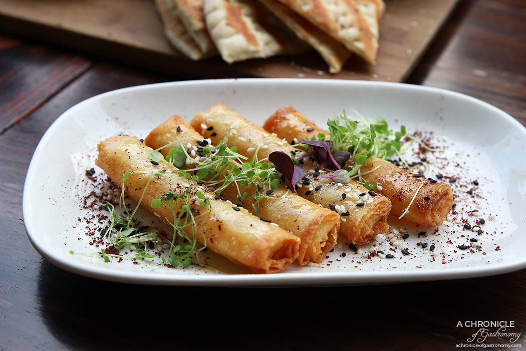 Bahari - Haloumi, thyme and honey cigars ($14)