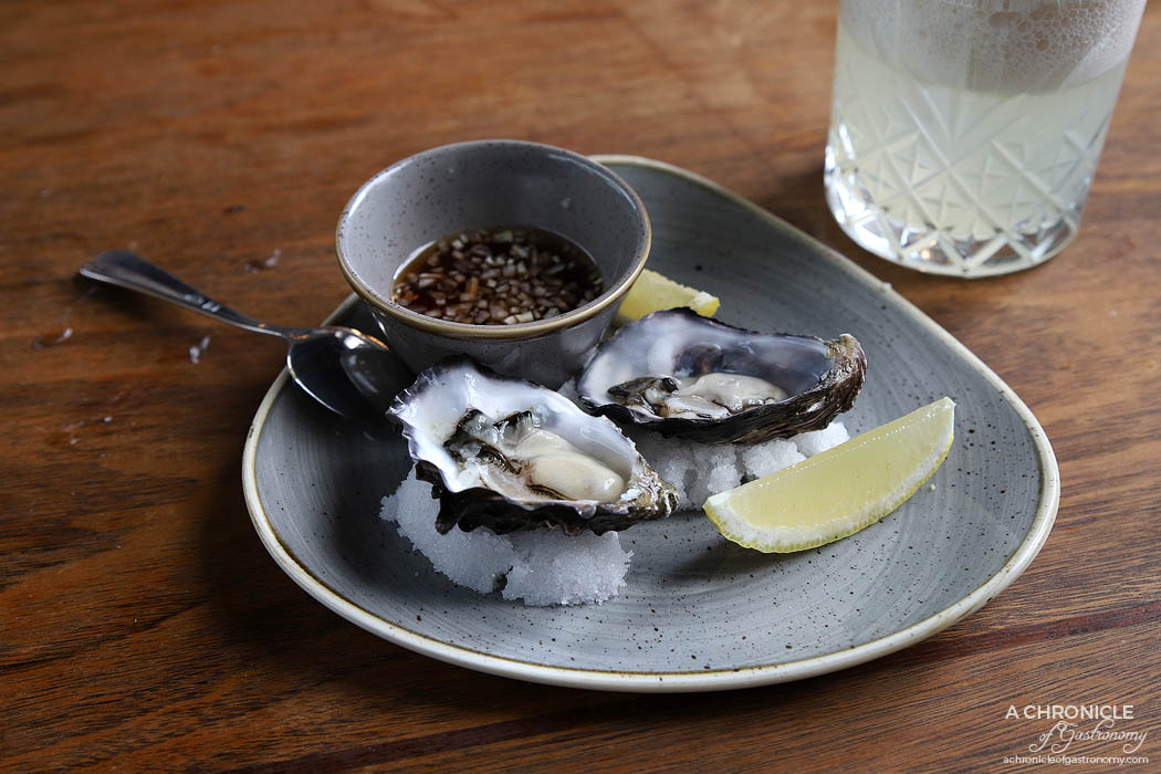 Galah - Oysters with mignonette sauce ($4.50 ea)