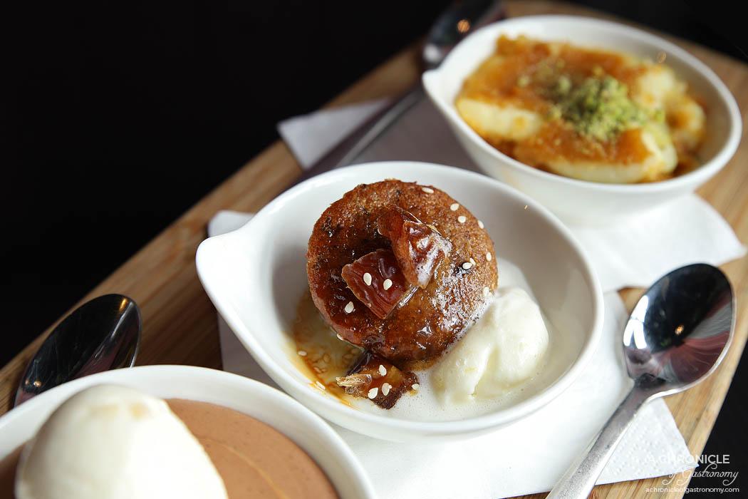 Mama Rumaan - Date cake (salted caramel, medjool dates, orange blossom ice cream)