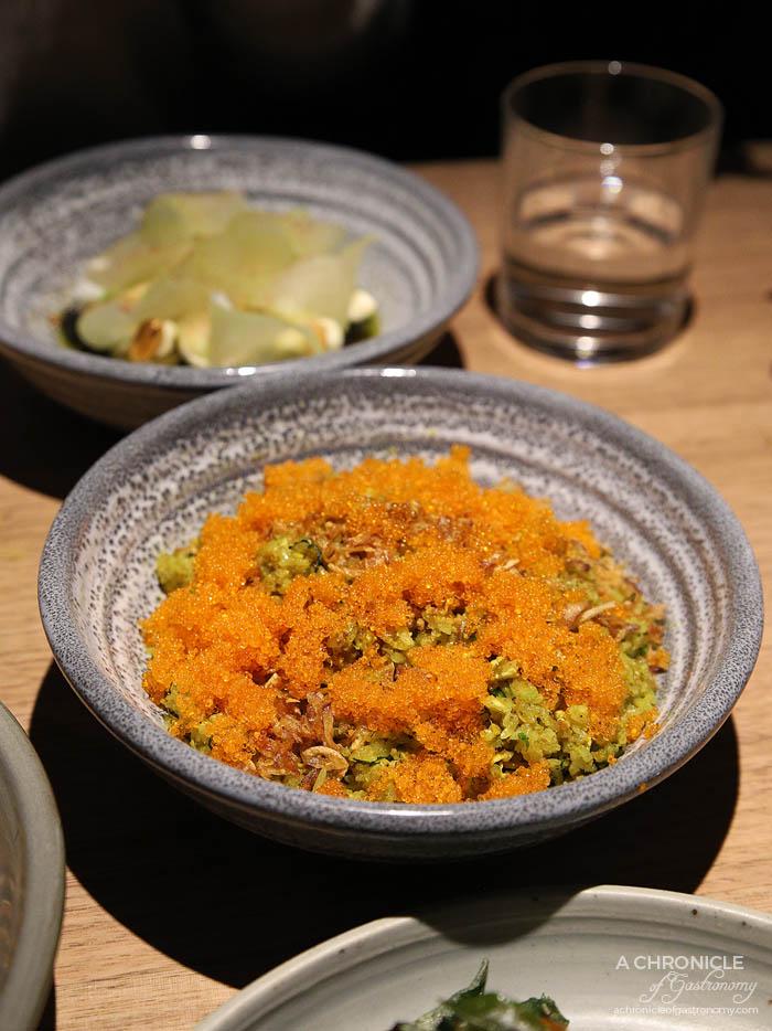 Sunda - Nasi ulam, aromatic herb fried rice, aniseed myrtle, tobiko