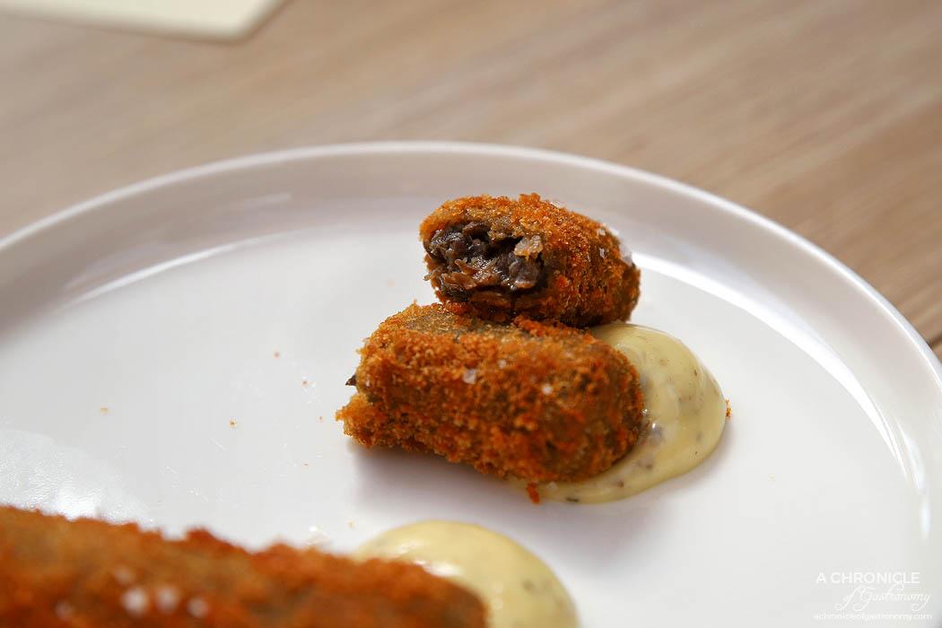 Pembroke - Mushroom croquette, truffle aioli ($5 ea)