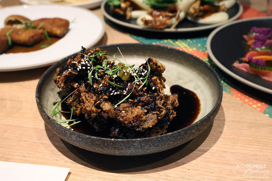 Makan - Fried chicken ribs, chilli & sweet soy glaze ($15)