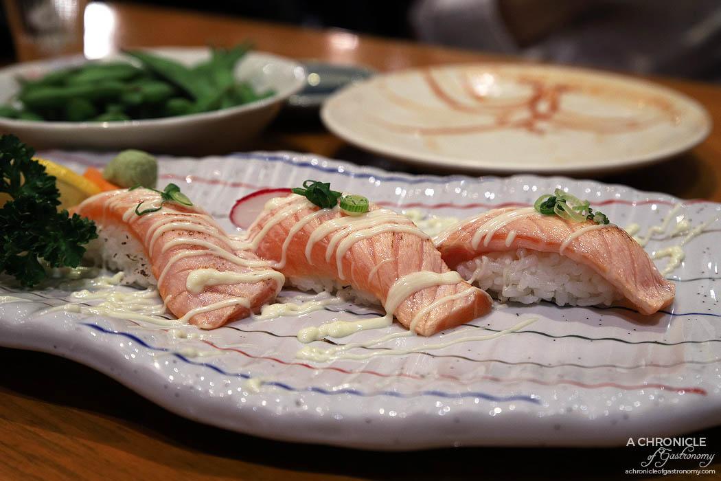 Matsumoto - Aburi Salmon Sushi (3 for $11)
